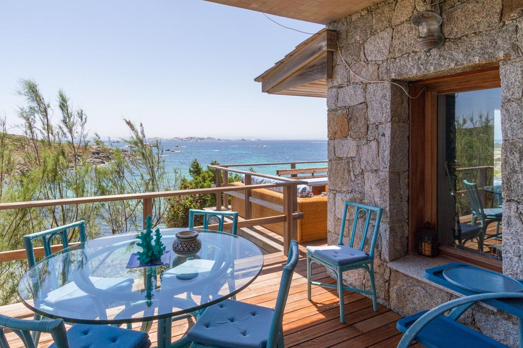 Villas and properties for sale and for rent, Cavallo Island, Corsica, Bonifacio, Mediterranean sea