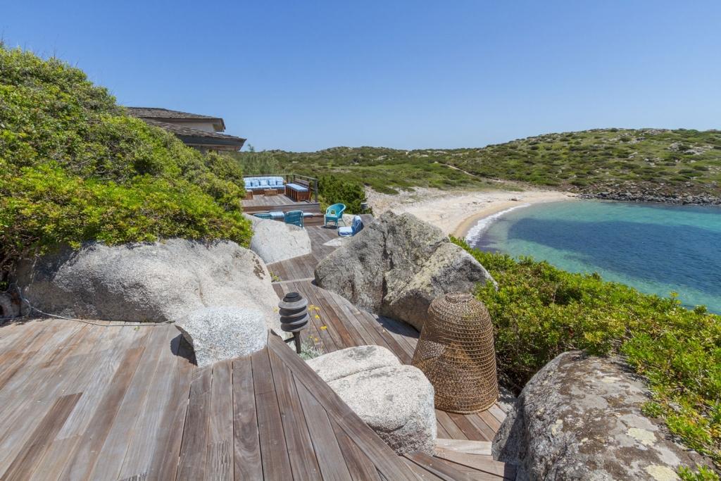 Villas et propriétés en vente et à louer, Ile de Cavallo, Corse, Bonifacio, Mer Méditerranée