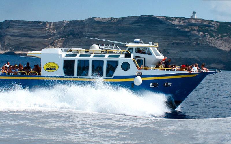 ferry ride to cavallo island